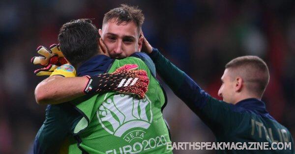 ดอนนารุมม่า ฉายแววเป็นฮีโร่ยิงจุดโทษ อิตาลีชนะยูโร 2020 หลังจากเอาชนะอังกฤษ 3-2 ในการดวลจุดโทษที่เวมบลีย์ อังกฤษขึ้นนำก่อนโดยลุค ชอว์